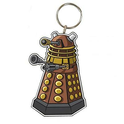 Official Licensed Product Dr Doctor Who Keyring Dalek Key Chain Fun Gift New