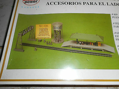 Model Power Ho Trackside Accessories Pack