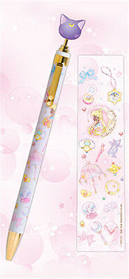 Sailor Moon Crystal Romance & Black Story 1 Luna Ballpoint Pen sun-star Cute