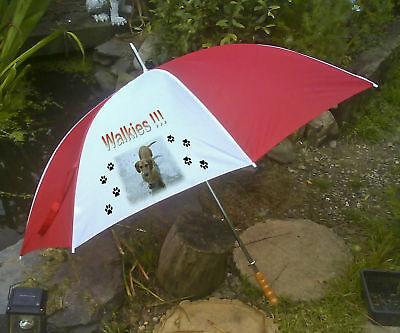 Personalised Golf Umbrella for walking the dog etc