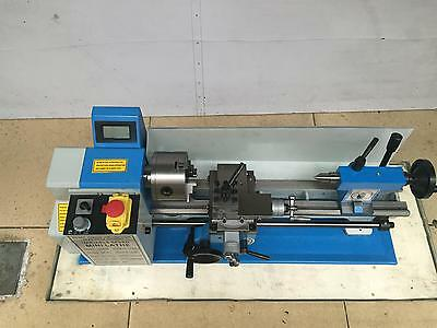 "7x13"" Mini Lathe 500W Spindle Variable Speed Metal Thread Processing Machine"