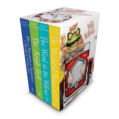 Children Classics Books Set Collection Illustrated, The Jungle Book Wizard of Oz