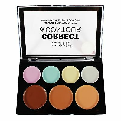 Technic Cream Contour & Concealer Corrector Palette Conceal Contour Make Up