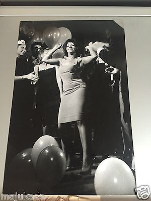 NANCY HOLLOWAY - PHOTO DE PRESSE ORIGINALE  27x18cm