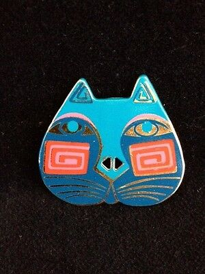 Retired Limited Edition Laurel Burch Cat Button