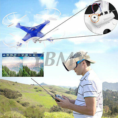 D97 RC Quadrocopter WiFi FPV Drohne 2MP Kamera 2.4GHz 4CH 6 Achse Gyro Real-time