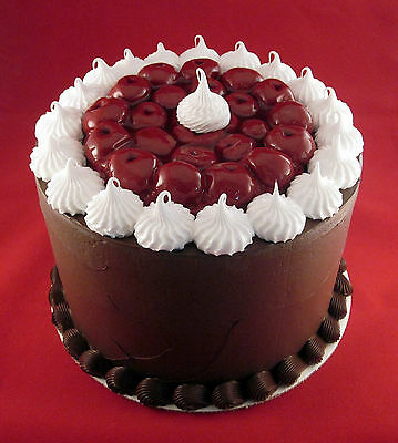 Fake Food -  8 Inch  Black Forest Fake Cake
