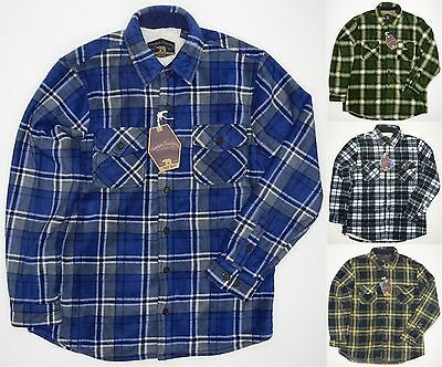 NEW Men's Freedom Foundry Flannel - Fleece Lined Jacket Shirt - VARIETY