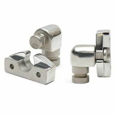 """Boat Top Bimini Top 7/8"""" Side Mount Eye End Stainless Steel Quick Release for 2"""