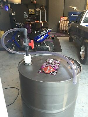 55 Gallon Air  Drum Pump (watch demo video in discription)