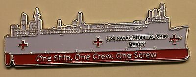 USNS Mercy (T-AH-19) CPO Chief's Mess Navy Challenge Coin