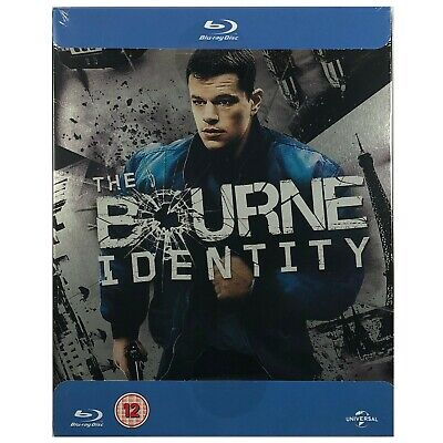 The Bourne Identity Steelbook - UK Exclusive Very Limited Edition Blu-Ray