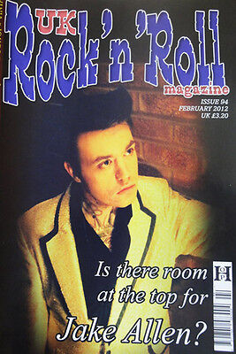 UK ROCK 'N' ROLL MAGAZINE Issue 94 - rockabilly - Jake Allen, Rocky Burnette