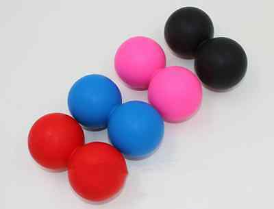 Peanut Lacrosse Ball Mobility Massage Ball Myofascial Trigger Point Release Yoga