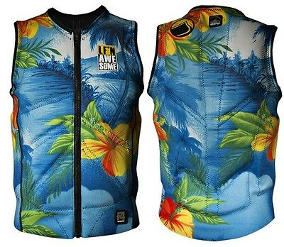 2016 Liquid Force Z Cardigan LF'n Awsome collection Wakeboard Impact Vest. 61827
