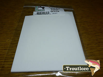 2Mm Thin Fly Tying Foam White 2-Pack - New Terrestrial Fly Tying Materials