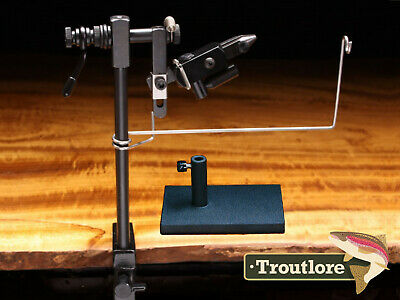 Griffin Odyssey Spider Cam Rotary Fly Tying Vise - Usa Made - New Fly Tying Tool