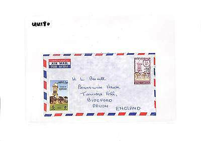 UU180 Qatar Devon GB Cover samwells-covers
