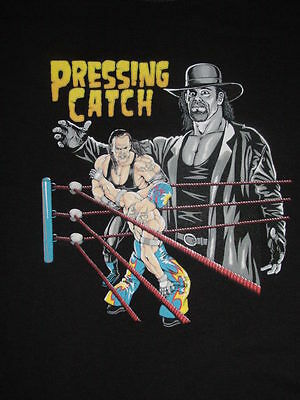 "T-Shirt "" Wrestling Catchen - Pressing Catch  "" S M L XL XXL NEU"