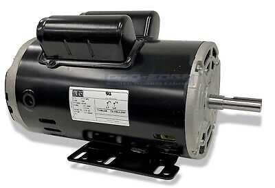 "5 hp SPL 1ph Air Compressor Electric Motor 56 frame 5/8"" shaft 3450 RPM 16amp"
