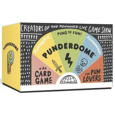 Punderdome Puns of Fun for Pun Lovers Card Game Local Ship