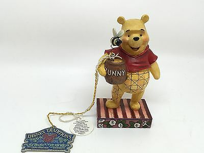 Disney Traditions**WINNIE THE POOH**Jim Shore Figurine**Silly Old Bear** W/Tags