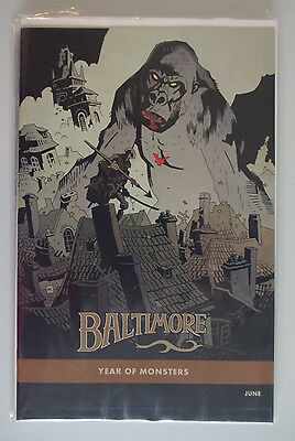 Dark Horse Year of the Monsters Variants 5 Comic Lot BPRD Baltimore Lobster