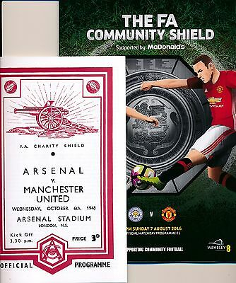 FA COMMUNITY SHIELD 2016 Manchester United v Leicester City with a FREE GIFT!