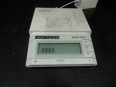 Mettler Toledo SAG285 Analytical Balance - No Power Cord Included
