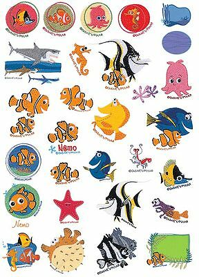 Disney Finding Nemo Brother Machine Embroidery Designs PES CD,USB