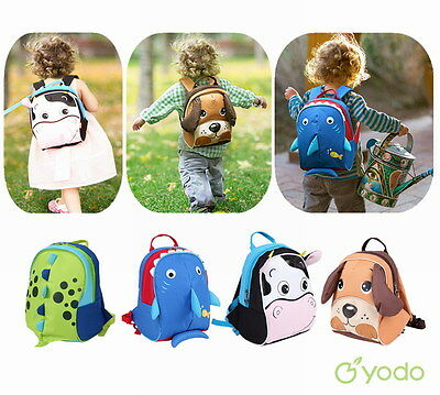 Yodo Children's 3D Dinosaur Kids Bag Anti-lost Insulated School Toddler Backpack