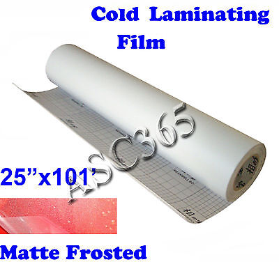 0.69x31Yard Matte Frosted Dull Cold Laminating Film for Laminator Mounting Vinyl