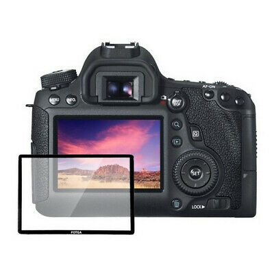 Hard Glass LCD Screen Protector for Canon EOS 750D 700D Rebel T6i T5i Camera