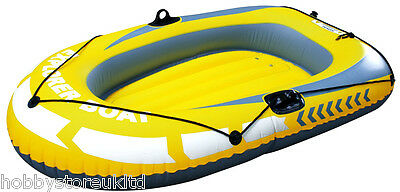 Inflatable Dinghy Boat Inflatable Dingy Boat with Pump and Oar Locks 144 x 188cm