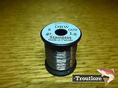 Uni .009 Dubbing Brush Wire Stainless Steel Dbw3 - New Fly Tying Materials