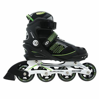 No Fear Cyclone Inline Skates Four Wheel Sports Roller Blades Skating Gents Mens
