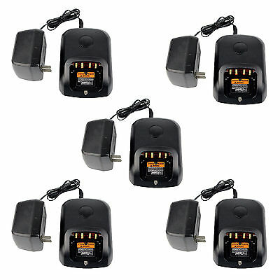 5p 220-240V Adaptive Single-Unit Power Charger for Motorola XPR 6550 XIR P8268