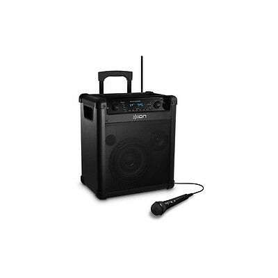 Ion Block Rocker iPA76C Wireless Rechargeable Bluetooth Speaker with Microphone