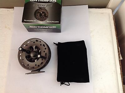 Ron Thompson Centrepin Reel For Fly Rod Fishing Line Trout Salmon Centre Pin