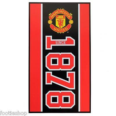 Manchester United FC Large Velour Beach Towel New Official Merchandise (ES)