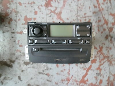 Toyota Avensis 2001 Standard Cd Player-No Code