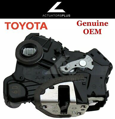 Toyota Highlander OEM Front Left Door Lock Actuator 2008-2013 *Lifetime Warranty