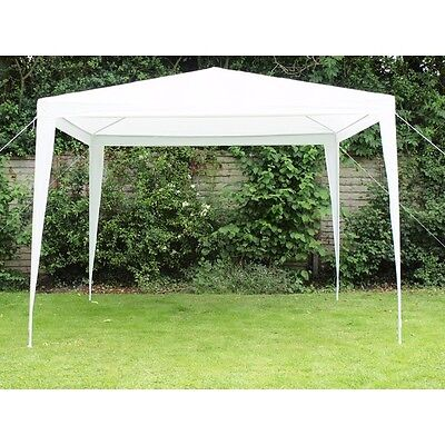 3x3m Waterproof Outdoor Garden Gazebo Marquee Canopy Awning Party Wedding Tent