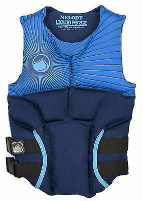 Liquid Force Melody CGA Approved Life Vest PFD Small Blue
