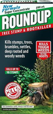 Roundup Tree Stump & Rootkiller 250ml