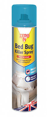 Zero In Bed Bug Killer 300ml Aerosol