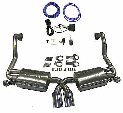 Porsche 987 Boxster & Cayman 2 Wireless Valved Cat Back Stainless Steel Exhaust