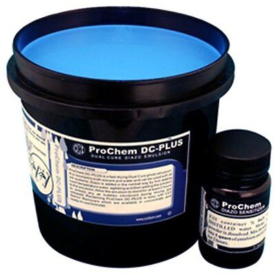 CCI ProChem DC-Plus dual cure emulsion for all ink systems 1 Quart Free Shipping