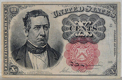 Fr. 1265 Ten Cent 10c Fractional Currency Fifth Issue
