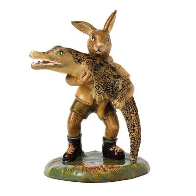Royal Doulton Bunnykins Figurine Crocadile Hunter DB513